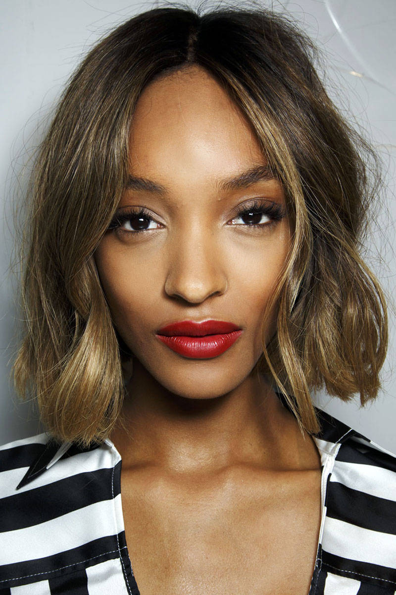 SS15 - Red-Lips - Burberry - Foto Imaxtree