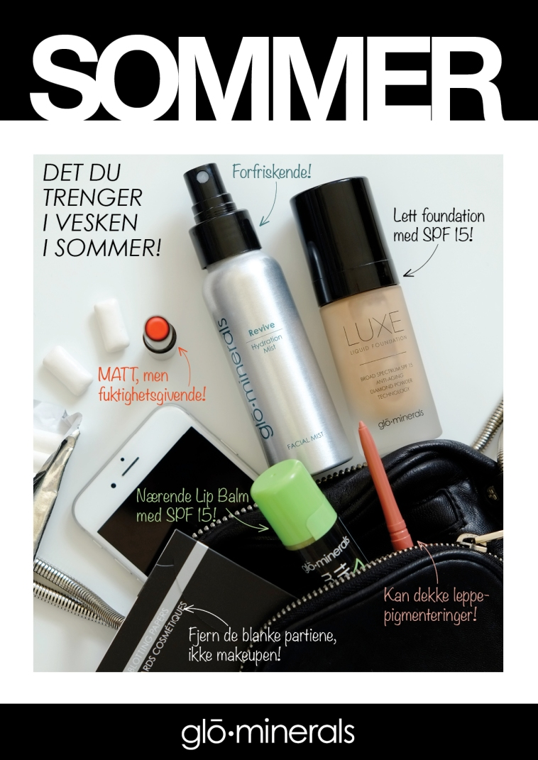 GM Sommerens must haves i vesken LUXE A4 2015